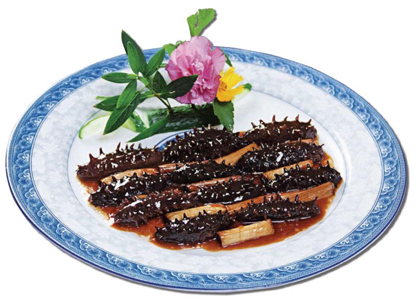 Shandong cuisine Scallions
