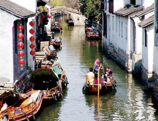 Chinese traditional residences: Ancient Waterfront Towns