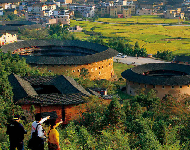 Chinese traditional residences: The Hakka Tulou