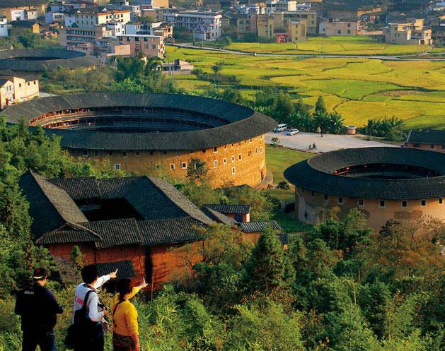 Chinese traditional residences: The Hakka Tulou
