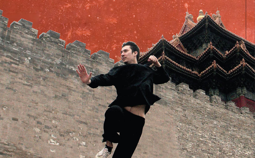 The kungfu dream of a kazakh lad