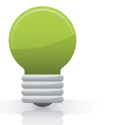 Turning off a light for one hour will reduce emission by 5500g of carbon dioxide.