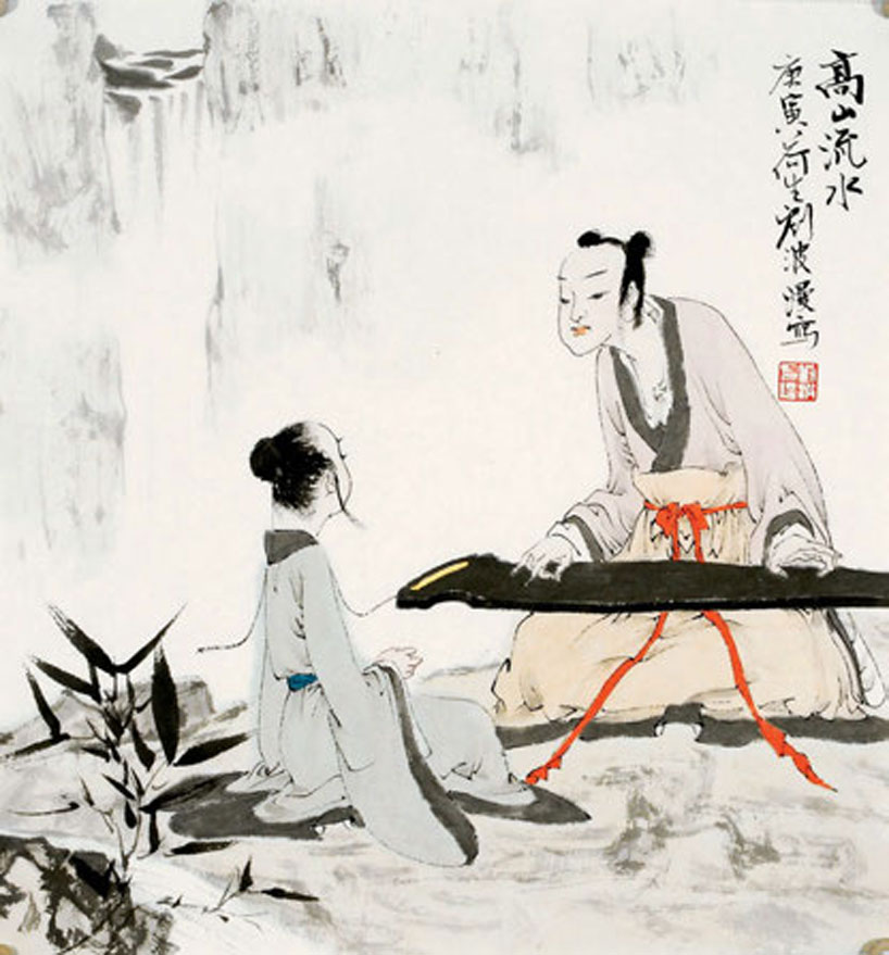 Chinese Idioms. Illustration by Liu Bo