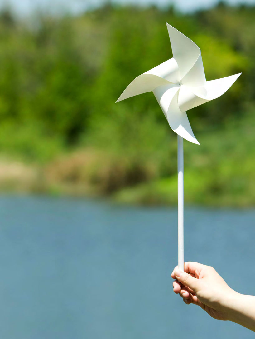 chinese paper windmill