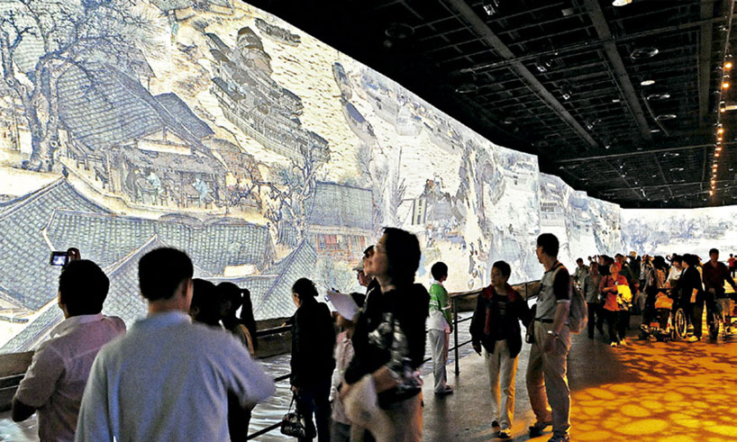 Technology in chinese museums