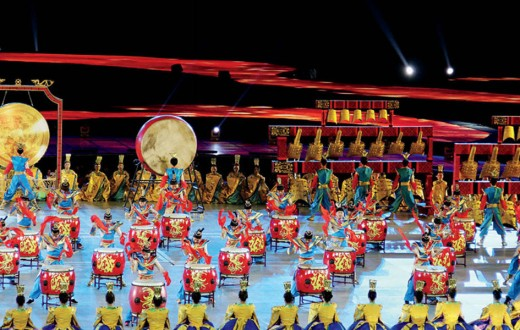 Jiangzhou drum music