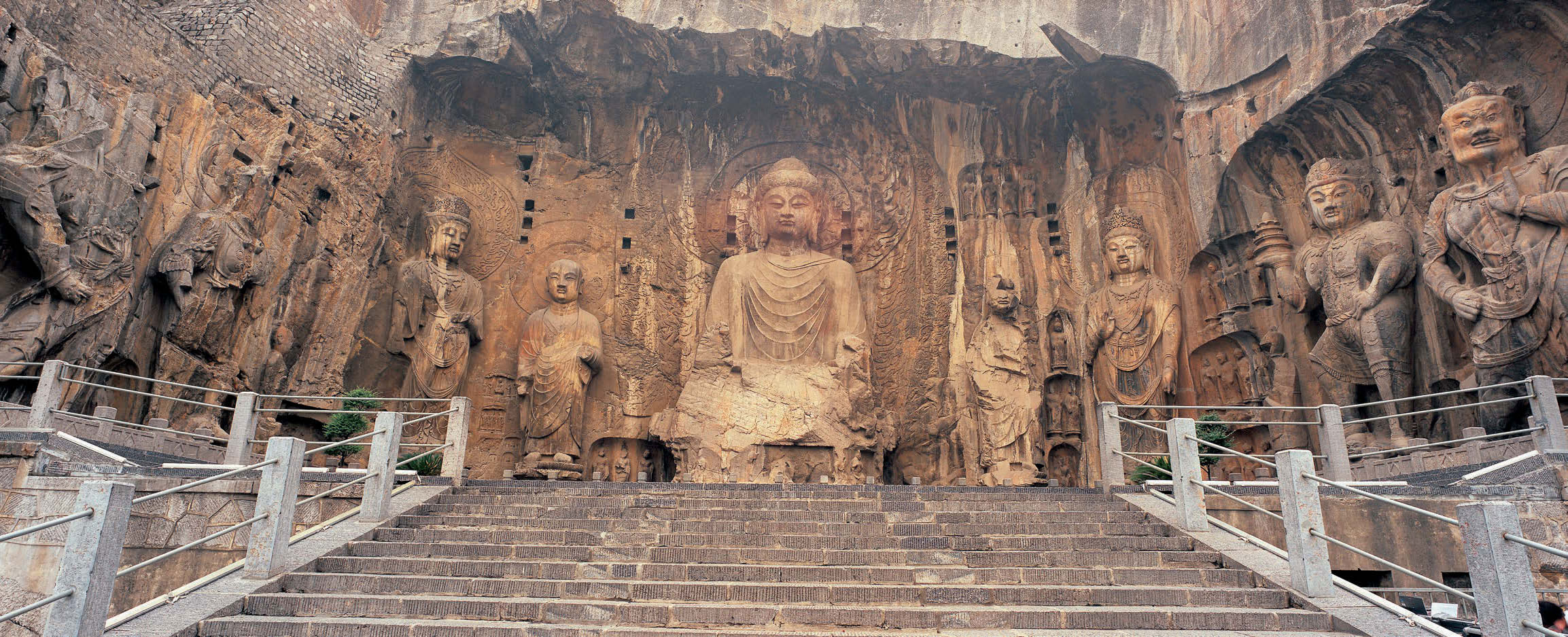 Image result for longmen grottoes