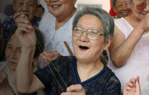 elderly china