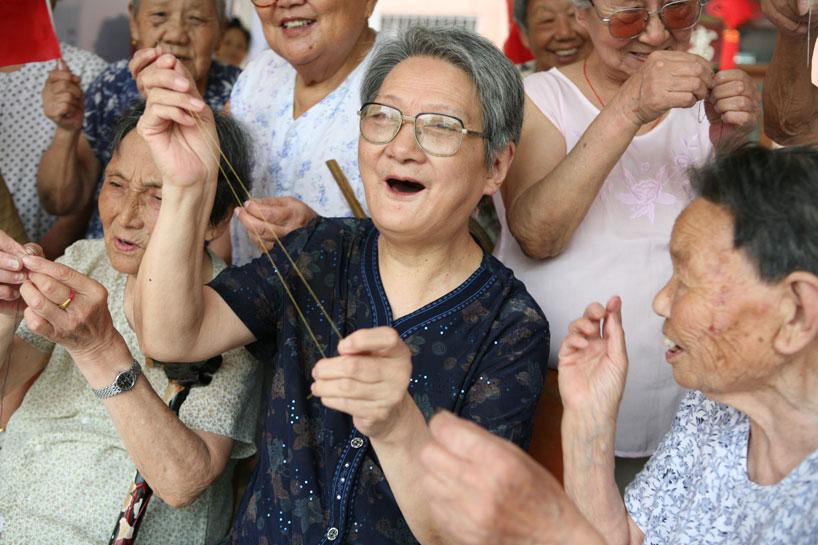 elderly china