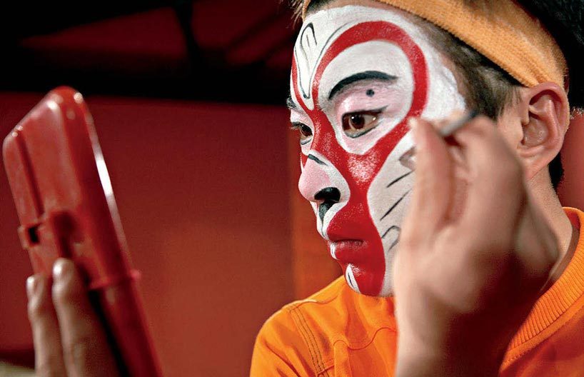 Facial Make Up Monkey King Sun Wukong