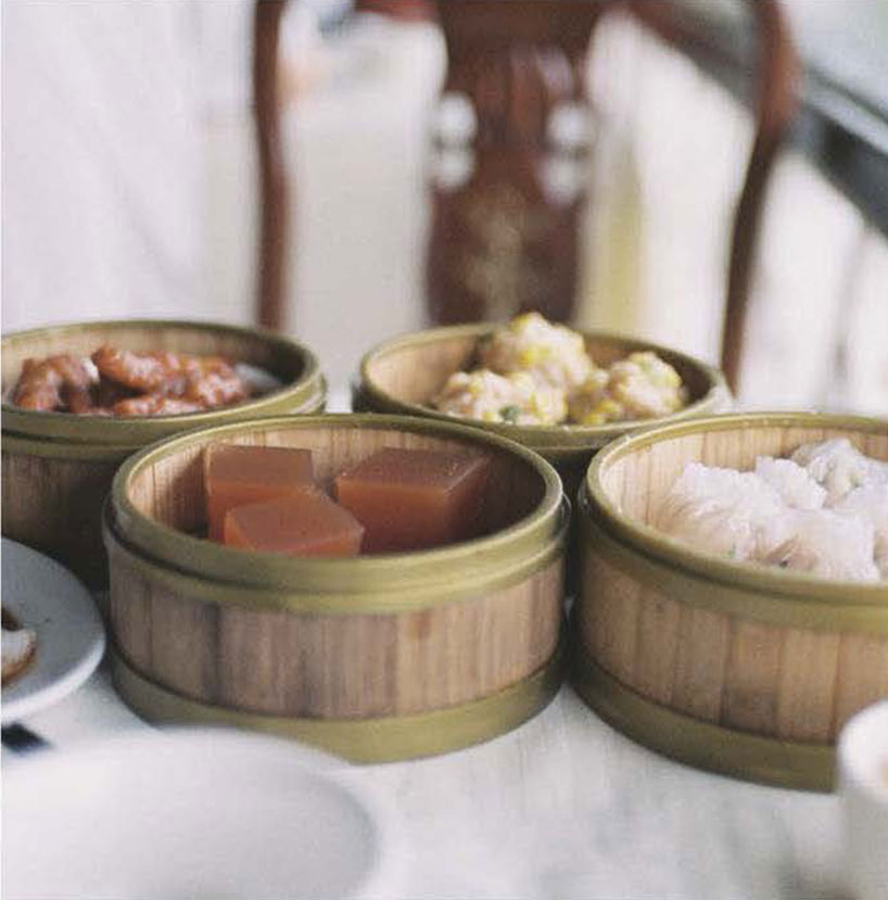 dim sum morning tea
