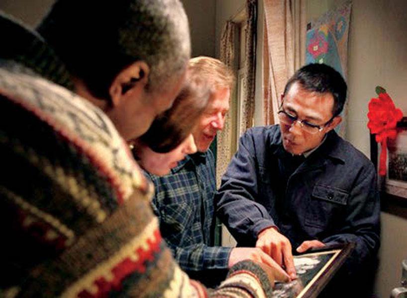 Guo Mingyi and Lei Feng